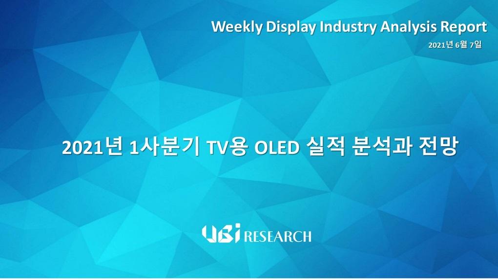 2021년 1사분기 TV용 OLED 실적 분석과 전망
