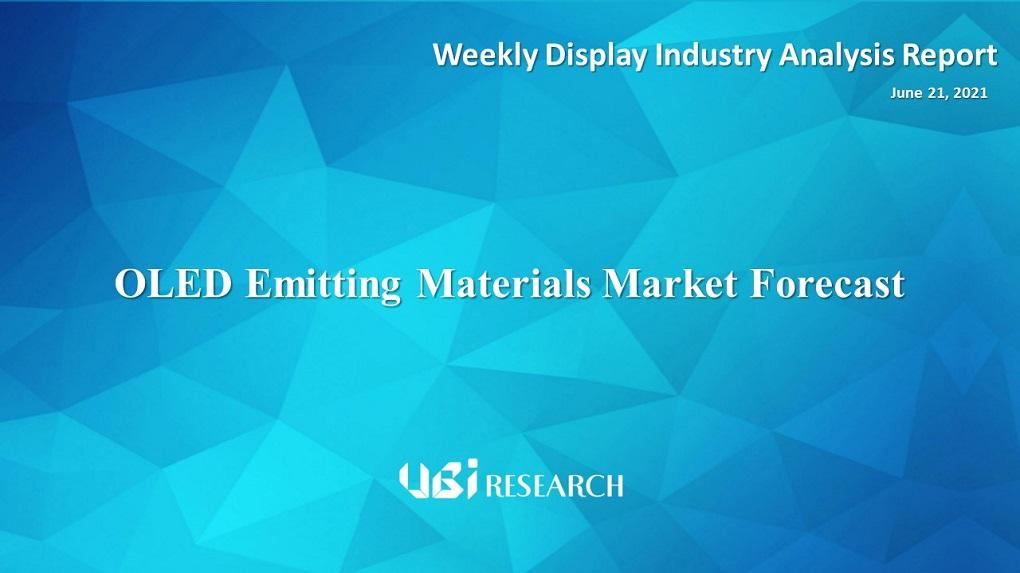 OLED Emitting Materials Market Forecast